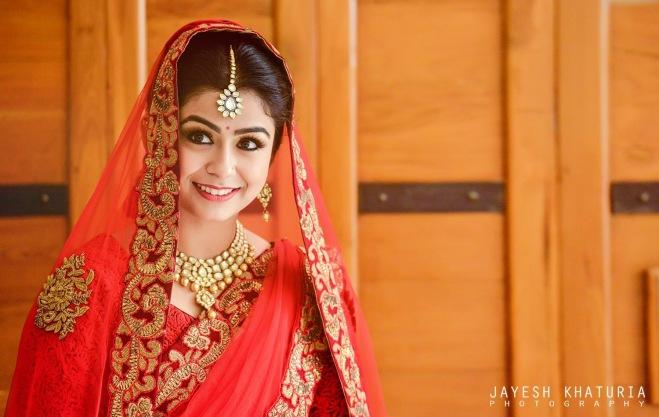 Shweta wearing Mayyur Girotra