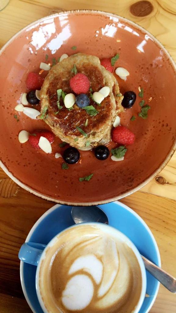 Banana Pancakes Bancakes| 1Life Feed Your Soul|Design District