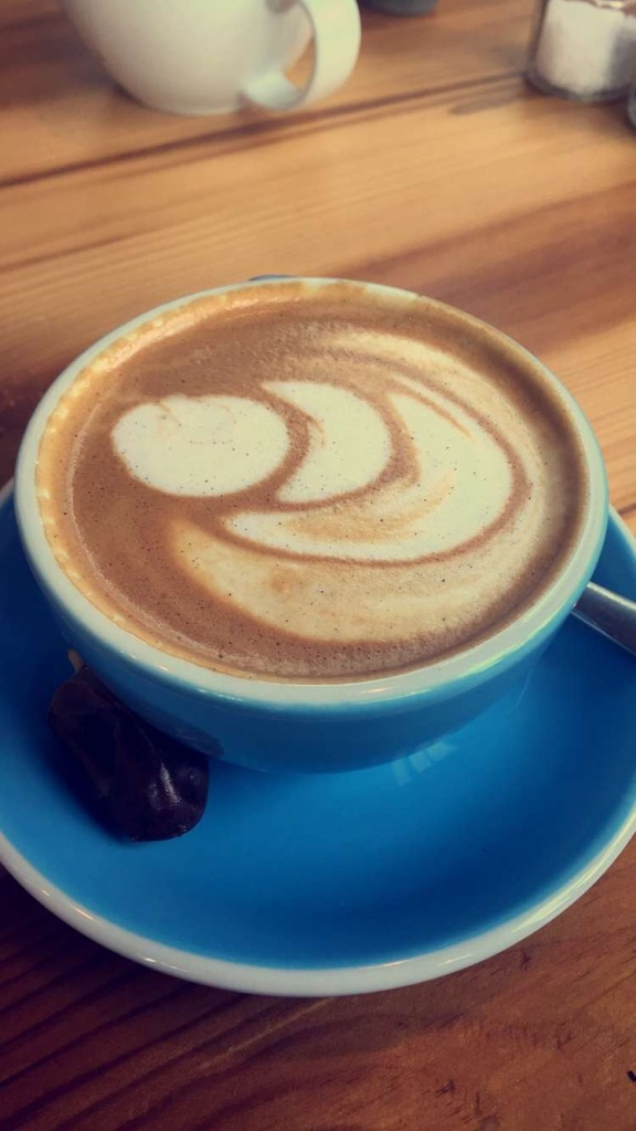 Cappuccino Almond Milk  1Life Feed Your Soul Design District