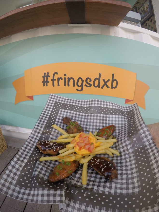 Frings UAE | Fries and wings