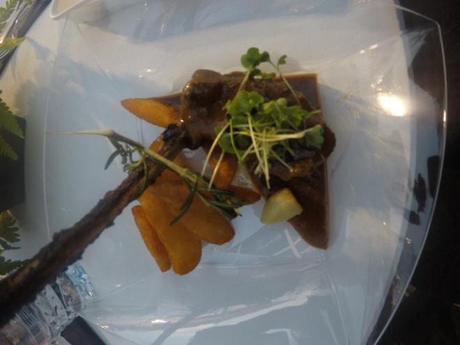 Tresind Lamb Chops | Dubai Food Festival | Etisalat Beach Canteen
