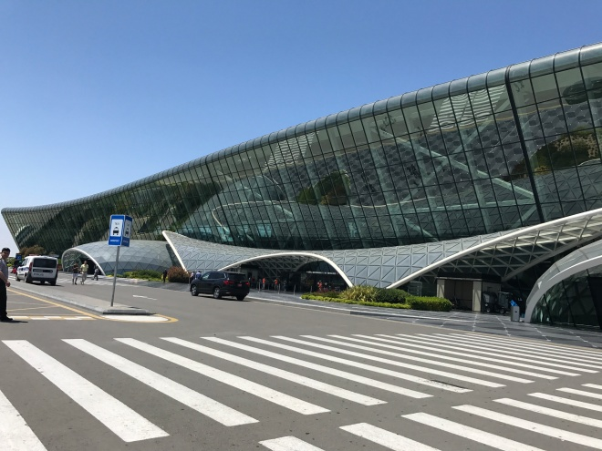 Baku International Airport | Azerbaijan | That Girl Who Travels